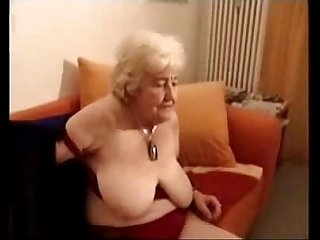 Having fun with old slut cousin of my mother. Amateur older