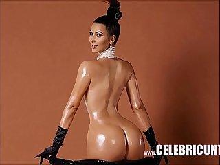 Kim Kardashian Latina Celebrity Pussy On Show
