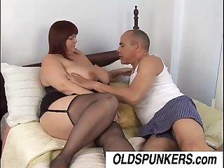 Beautiful big tits mature BBW Josie is a hot fuck
