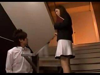 Javrar.us Japanese Teacher vs student hot video