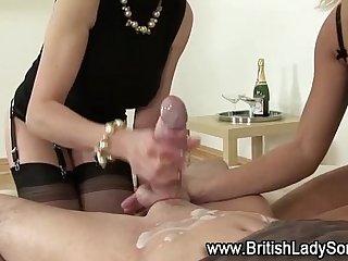 Femdom fetish bondage stockings babes