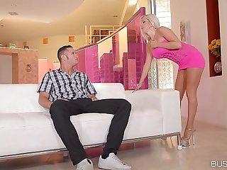 Busty Escort Savannah Stevens cums Hard on a Big Cock